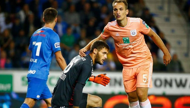 Футбол: Безус відзначився голом команді Макаренка в чемпіонаті Бельгії