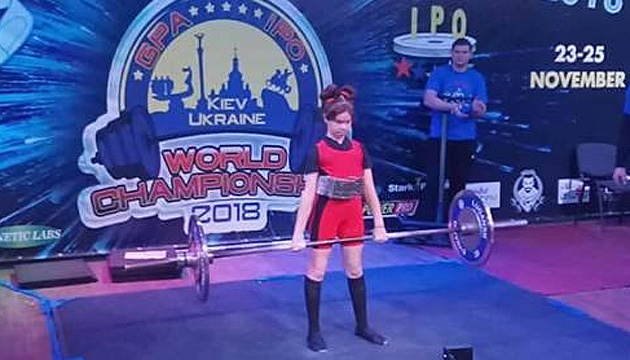 Шестикласниця з Малина встановила світовий рекорд зі станової тяги