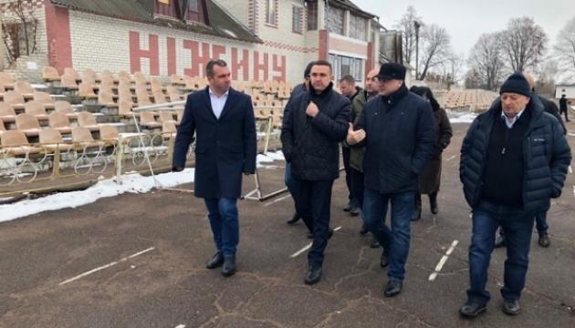 Жданов призвал городскую общину Нежина совместно работать над развитием спорта