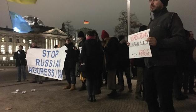 У Берліні протестували проти російської агресії