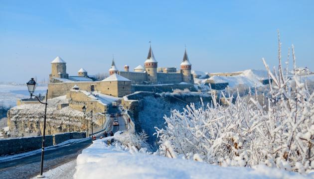 Fortaleza de Kamianets-Podilsky: Viaje al reino nevado (Fotos)