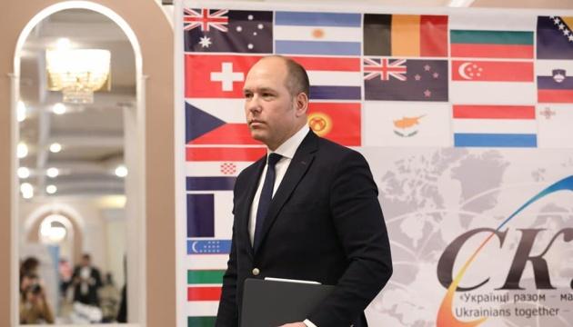 СКУ закликає Зеленського до чіткої позиції щодо виборів на Донбасі, курсу в ЄС та НАТО і санкцій проти РФ