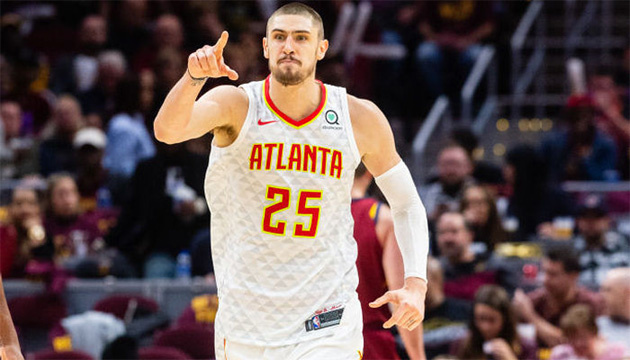 Баскетбол: українець Лень був найефективнішим у матчі НБА проти