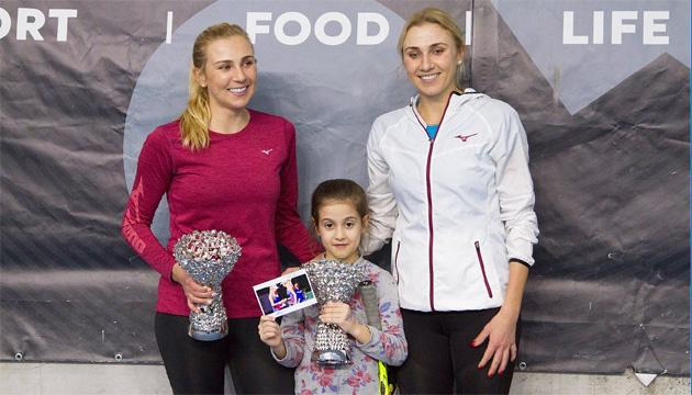 Чемпіонки WTA Elite Trophy сестри Кіченок провели майстер-клас для дітей