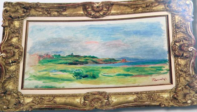 Картину Ренуара в Вене украл вор-профессионал из Украины
