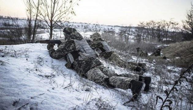"""У перші години новорічної """"тиші"""" окупанти відкрили вогонь з гранатометів"""