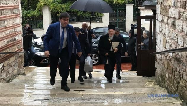 Сьогодні у Стамбулі Синод затвердить текст Томосу та дату Собору для України