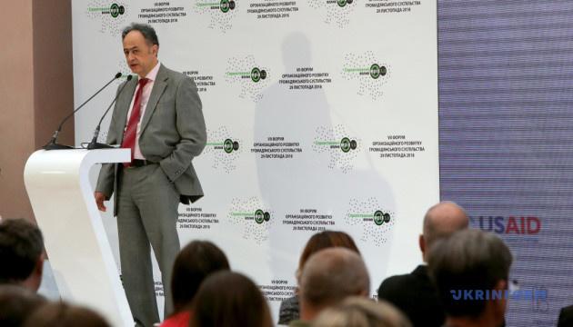 В Україні рівень довіри до громадянського суспільства зріс майже до 40% — Мінгареллі