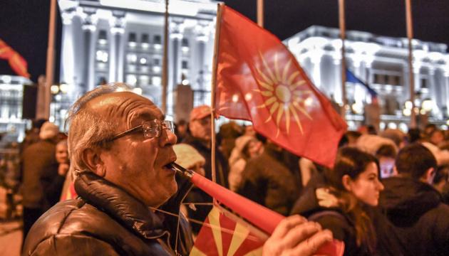 У Македонії на антиурядовий протест вийшли тисячі людей