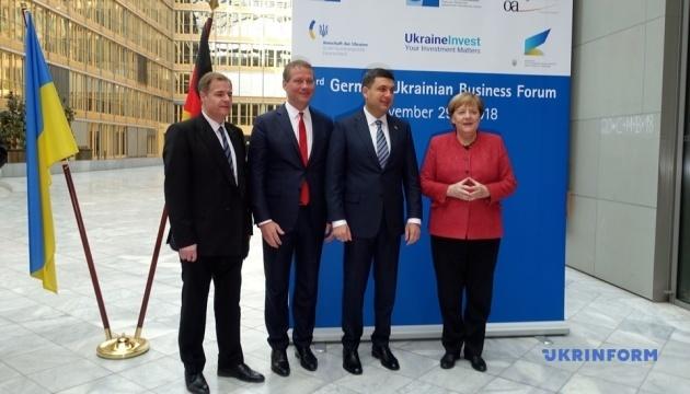 Меркель і Гройсман відкрили ІІІ Українсько-німецький бізнес-форум