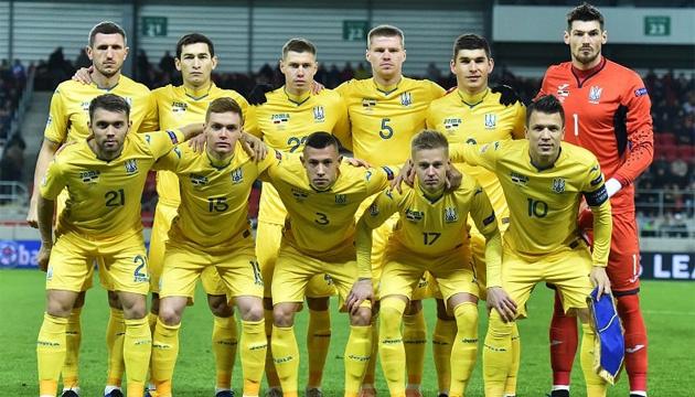 Україна пропустила вперед Словаччину в рейтингу ФІФА