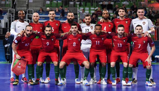 Збірна Португалії з футзалу відмовилася проводити матчі в Запоріжжі