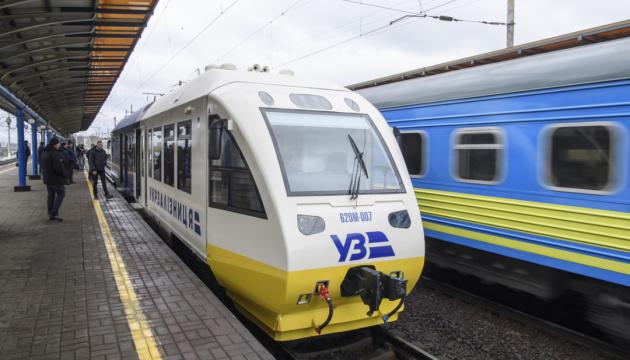 キーウ市~ボリスピリ国際空港間の特急電車の運行開始