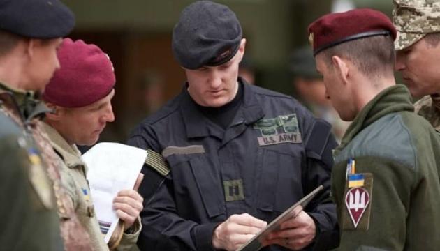 Украинские военные принимают участие в учениях НАТО Combined Resolve XI