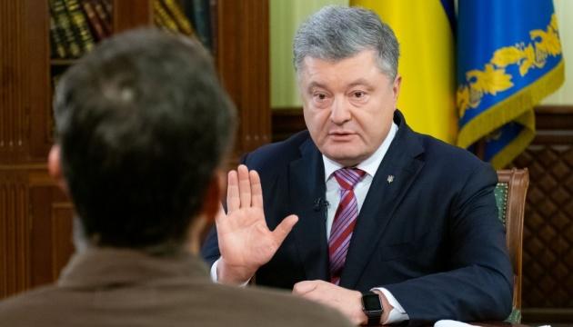 Порошенко: Маю дві погані новини для пана Путіна