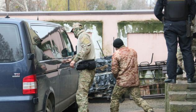 Russia's FSB asks  court to extend arrest of captured Ukrainian sailors