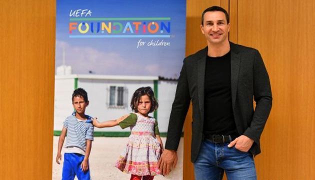 Wladimir Klitschko joins UEFA Foundation for Children