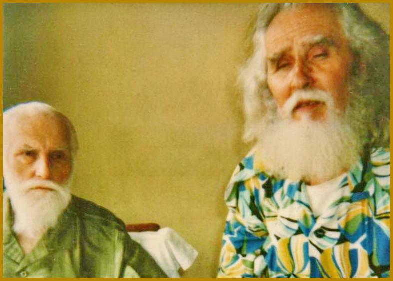 Олесь Бердник та Святослав Реріх