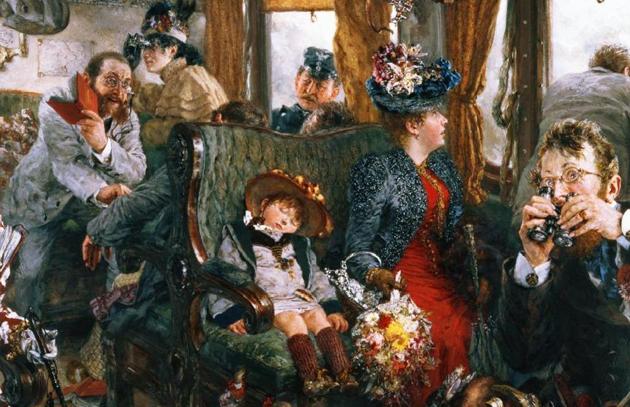 Картина Адольфа фон Менцеля