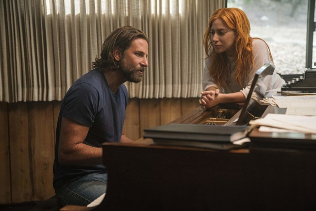 Бредлі Купер та Леді Гага у фільмі «Народження зірки»