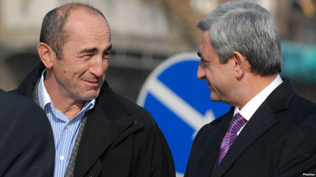 Колишні президенти Вірменії Роберт Кочерян і Серж Саргсян