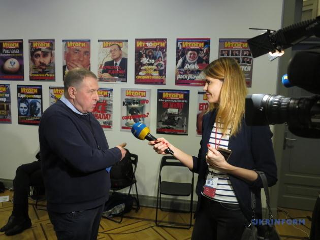 Интервью Андрея Илларионова украинскому ТВ