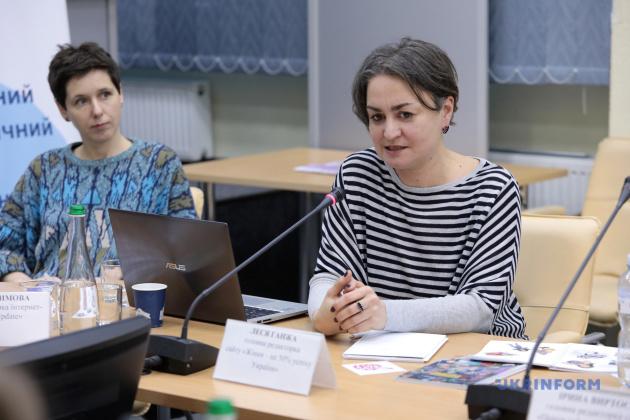 Леся Ганжа (ліворуч) та Тая Герасимова
