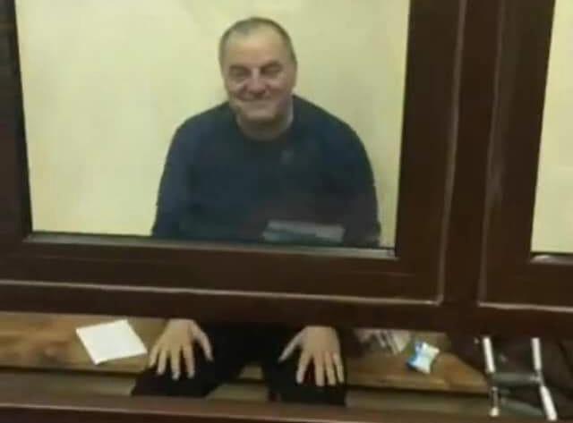Емем Бекіров у залі суду