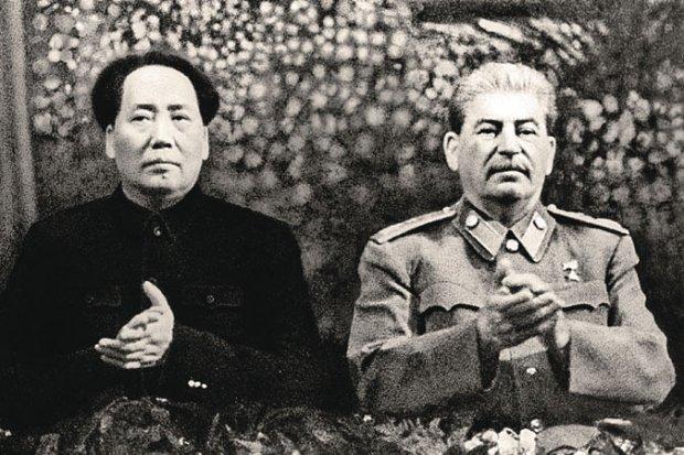 Мао Цзедун і Йосип Сталін