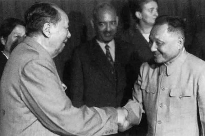 Мао Дзедун і Ден Сяопін