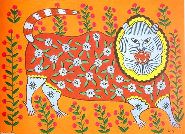 Тигр сміється, 1982 р.
