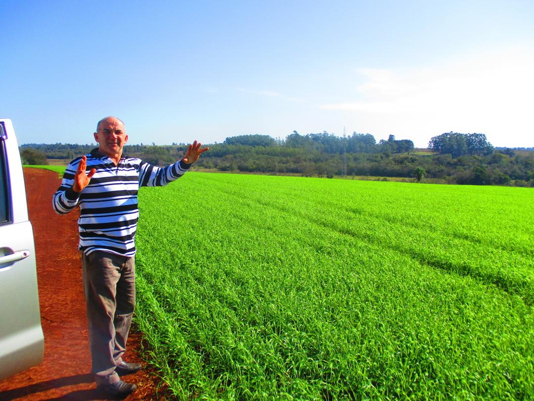 Парагвай, українець-хлібороб Григорій Ребрук