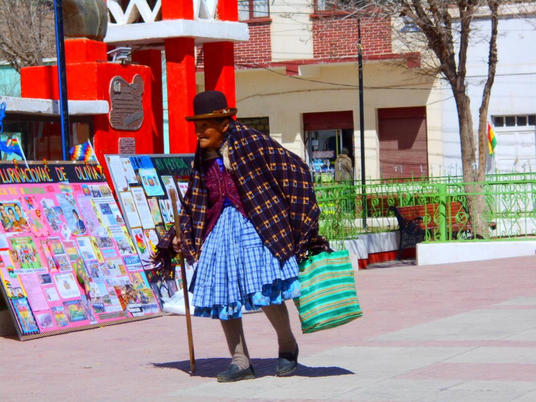 Болівія, місцева жителька