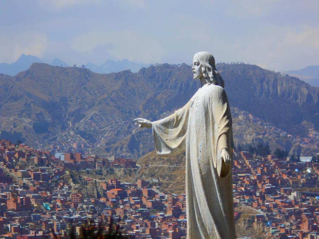 Болівія, статуя Ісуса Христа над Ла-Пасом