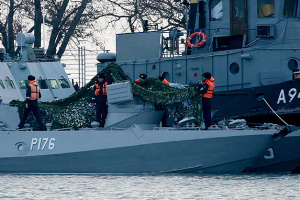 Russia demands Ukraine guarantee its sailors will be punished under Russian law