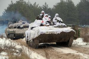 Силы ООС тренировались отражать атаки на артиллерийские склады