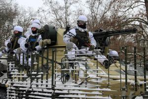 Оккупанты четыре раза прицельно обстреляли позиции ВСУ, потерь нет