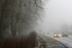 Синоптики обещают на воскресенье до 12° тепла, дождь и сильный туман