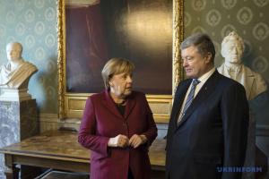 У Мюнхені почалася зустріч Порошенка та Меркель