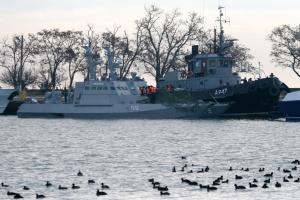 Украина проведет экспертизу, чтобы выяснить состояние возвращенных Россией катеров