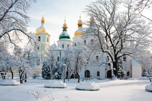 В «Софии Киевской» началось дипломатическое принятие «Сокровища нации»