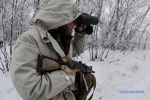 На Донбассе сбили дрон оккупантов с осколочной взрывчаткой
