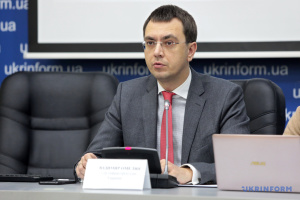 Infrastructure minister Omelyan: Development of Ukrainian transport infrastructure follows global trends