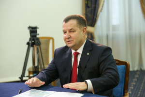 Ukrainian defense minister meets with strategic advisers from NATO member countries