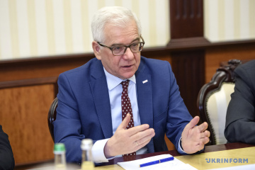 Polish foreign minister proposes appointing UN envoy for Ukraine