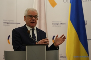 Czaputowicz explica porque Ucrania no puede unirse a la Iniciativa Tres Mares
