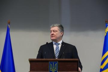 波罗申科称将向海牙国际法庭提交俄罗斯对乌克兰人实施犯罪的证据