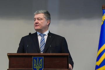 Russia has challenging number of ships in Black Sea that can threaten NATO - Poroshenko