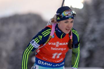 Dzhima wins first Biathlon World Cup gold in Slovenia