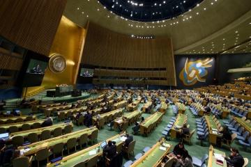 Kyslytsya: Las resoluciones de la Asamblea General de la ONU ayudan a Ucrania en los tribunales internacionales contra Rusia